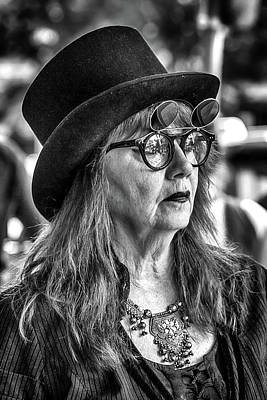 Photograph - Glasses And A Top Hat by John Haldane