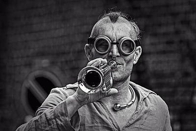 Photograph - Glasses And Trumpet by Roberto Pagani