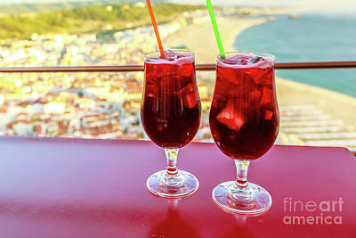 Photograph - Glasses Of Sangria by Benny Marty