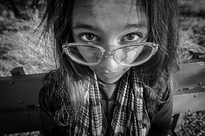 Photograph - Glasses by Ralph Vazquez