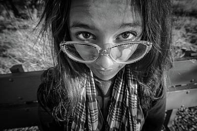 Photograph - Glasses by Ralph Vazquez