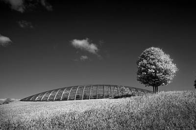 Glasshouse At The National Botanic Gardens, Wales Art Print