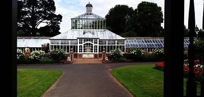 Photograph - Glasshouse,dunedin Botanical Gardens by Nareeta Martin