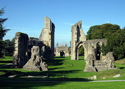 Photograph - Glastonbury Abbey 1 by Kurt Van Wagner