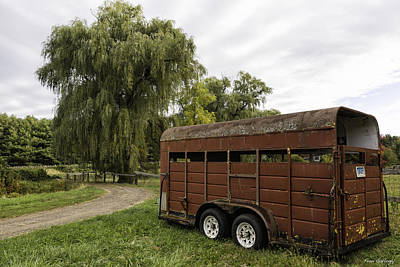 Photograph - Glastonbury Farm by Fran Gallogly