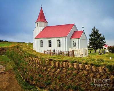 Photograph - Glaumbaer Church by Inge Johnsson