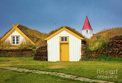 Photograph - Glaumbaer by Inge Johnsson