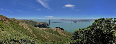 Photograph - Golden Gate Entry by Chris Alberding