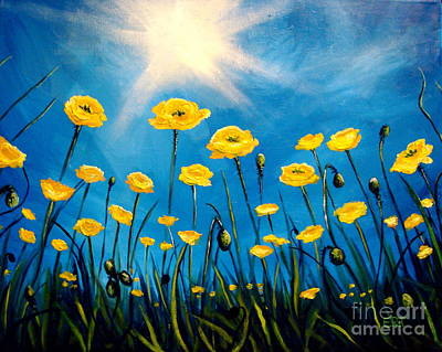 Painting - Gleaming by Elizabeth Robinette Tyndall