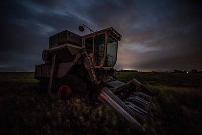 Photograph - Gleaner by Aaron J Groen