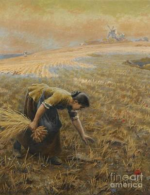 Gleaning Painting - Gleaning by Celestial Images