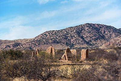 Photograph - Gleeson Arizona Ruins Gleeson Az by Toby McGuire