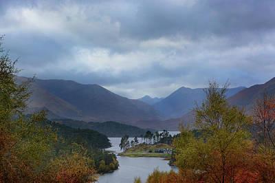 Photograph - Glen Affric In Autumn by Veli Bariskan