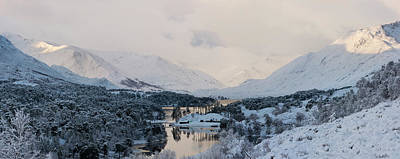 Photograph - Glen Affric In The Snow by Veli Bariskan
