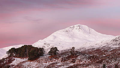 Photograph - Glen Affric Sunrise by Grant Glendinning