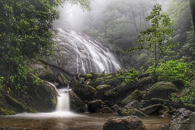 Photograph - Glen Burney Falls by Chris Berrier