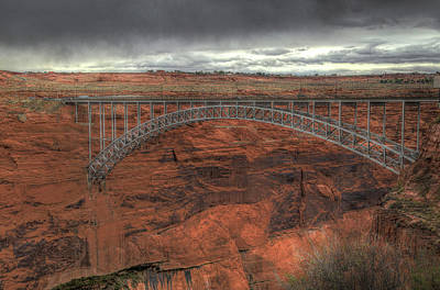 Photograph - Glen Canyon Bridge by Donna Kennedy