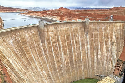 Photograph - Glen Canyon Dam by Donna Kennedy