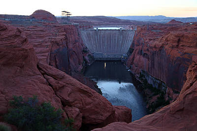 Photograph - Glenn Canyon Dam by Viktor Savchenko