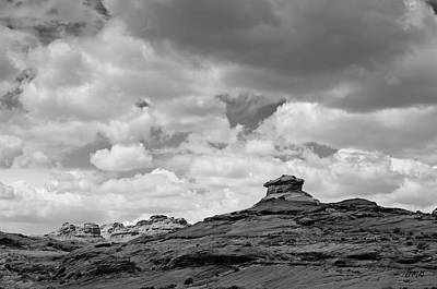 Photograph - Glen Canyon Page Az II Bw by David Gordon