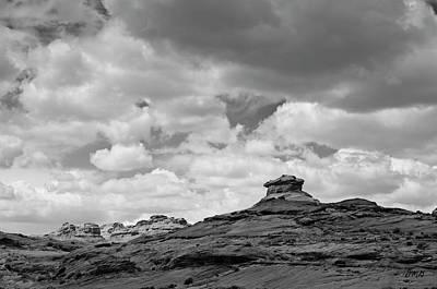 Photograph - Glen Canyon Page Az II Bw by David Gordon