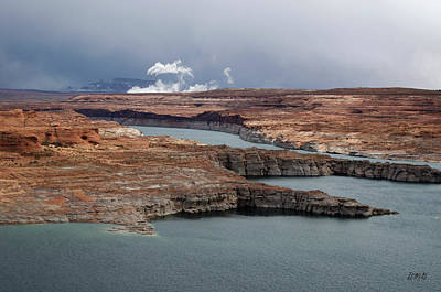 Glen Canyon Page Az Xi Art Print by David Gordon