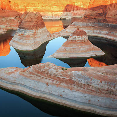 Photograph - Glen Canyon Reflections by Johnny Adolphson