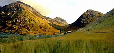 Glen Coe Art Print by James Shepherd