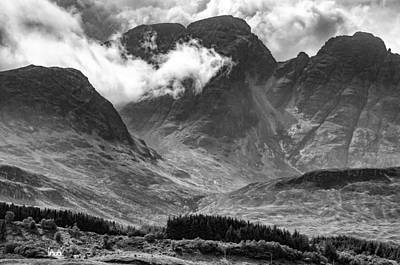 Photograph - Glen Coe by Neil Alexander