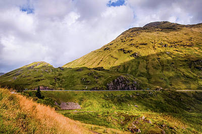 Photograph - Glen Croe. Rest And Be Thankful. Scotland by Jenny Rainbow