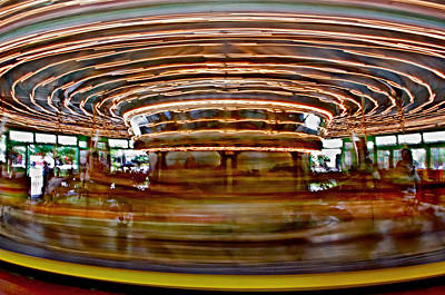 Photograph - Glen Echo Carousel by Suzanne Stout