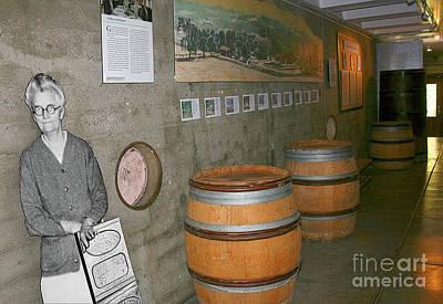 Photograph - Glen Ellen Wine And History by Gabriele Pomykaj