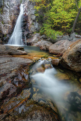 Photograph - Glen Ellis Falls Autumn by Bill Wakeley