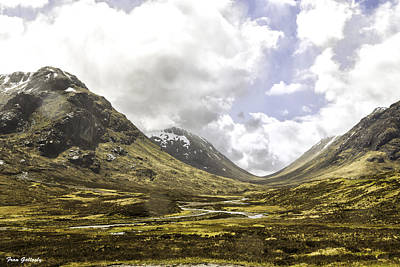 Photograph - Glen Etive by Fran Gallogly