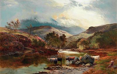 Glen Painting - Glen Falloch by Sidney Richard Percy