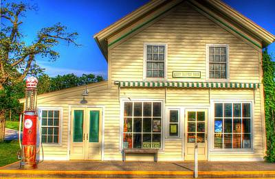 Photograph - Glen Haven Store by Randy Pollard