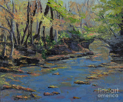 Painting - Glen Helen Creek by Linda Riesenberg Fisler