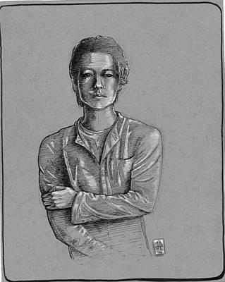 James Parker Drawing - Glen by James Parker