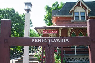Glen Mills Pennsylvania Print by Bill Cannon