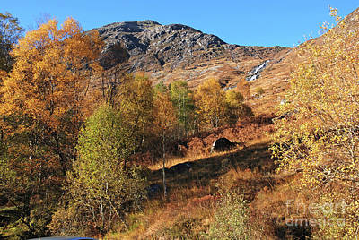 Photograph - Glen Nevis Autumn by Phil Banks