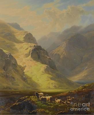 Glen Painting - Glen Strae, Argyleshire by Celestial Images