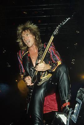 Photograph - Glen Tipton Of Judas Priest by Rich Fuscia