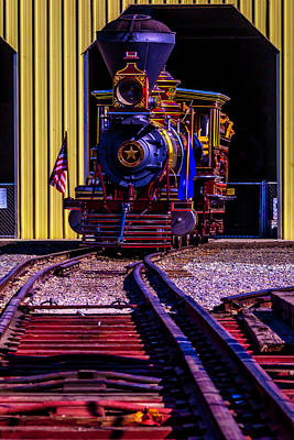 Photograph - Glenbrook Coming Down The Tracks by Garry Gay
