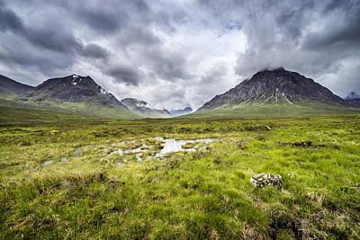 Photograph - Glencoe by Jeremy Lavender Photography