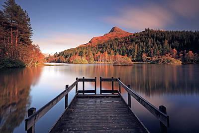 Photograph - Glencoe Lochan  by Grant Glendinning