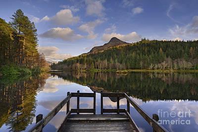 Glencoe Photograph - Glencoe Lochan by Rod McLean