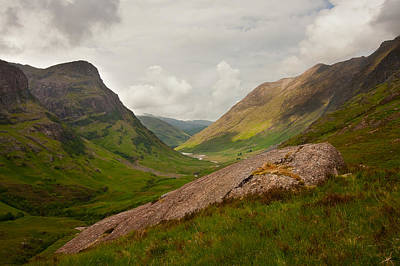 Photograph - Glencoe Morning by Colette Panaioti