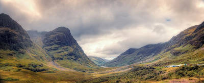 Glencoe Panorama Art Print by Ray Devlin