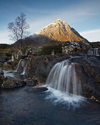 Photograph - Glencoe Waterfalls by Stephen Taylor