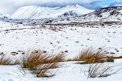 Photograph - Glencoe Winter by John Frid